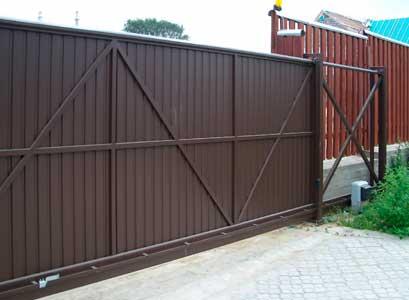 Ворота откатные Гомель